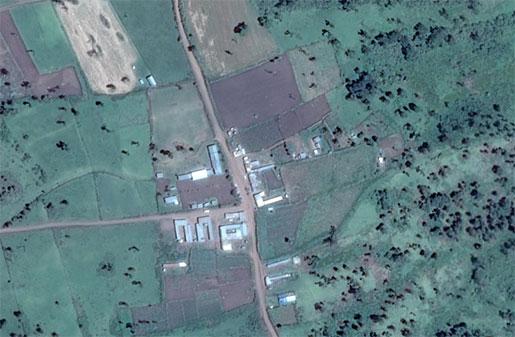 Dorobo-Google-Earth
